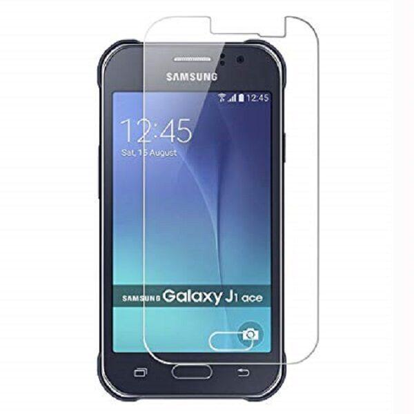 گلس جی 1 ایس بی رنگ و شفاف سامسونگ J1 ace یا جی وان ایس محافظ صفحه نمایش شیشه ای Glass Screen Protector samsung J1 ace