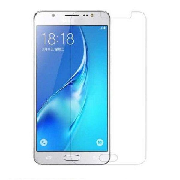 گلس جی 5 بی رنگ و شفاف سامسونگ J500 یا جی پنج محافظ صفحه نمایش شیشه ای Glass Screen Protector samsung J5