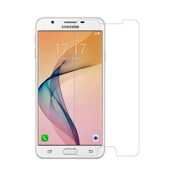 گلس جی 5 پریم بی رنگ و شفاف سامسونگ J5 prime یا j5 پریم محافظ صفحه نمایش شیشه ای Glass Screen Protector samsung J5 prime