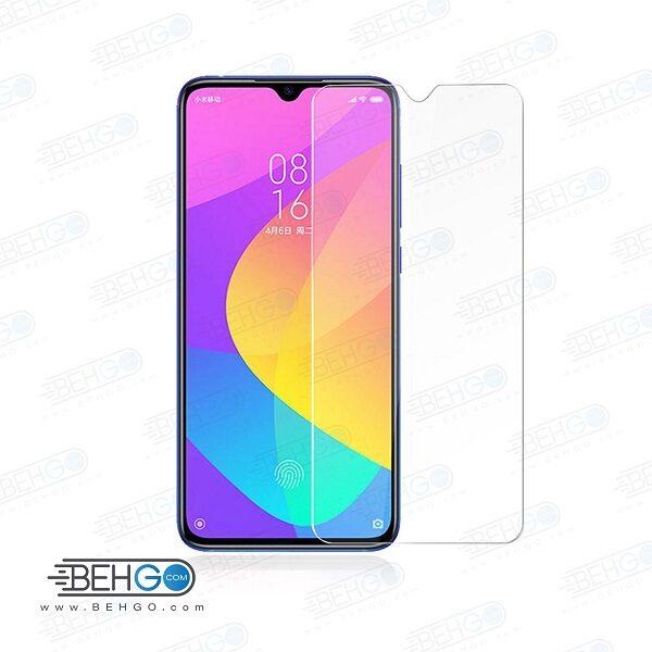 گلس شیائومی mi 9 لایت بی رنگ و شفاف xiaomi mi9 lite یا ,می نه لایت محافظ صفحه نمایش شیشه ای Glass Screen Protector Xiaomi Mi9 lite