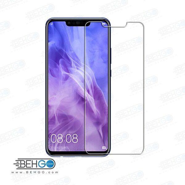 گلس نوا 3i بی رنگ و شفاف هواوی nova3i یا ,nova 3i محافظ صفحه نمایش شیشه ای Glass Screen Protector huawei nova 3i