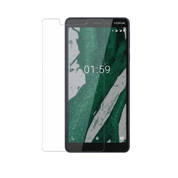 گلس نوکیا 1 پلاس بی رنگ و شفاف نوکیا 1 plus یا nokia 1 plus محافظ صفحه نمایش شیشه ای Glass Screen Protector Nokia 1 plus
