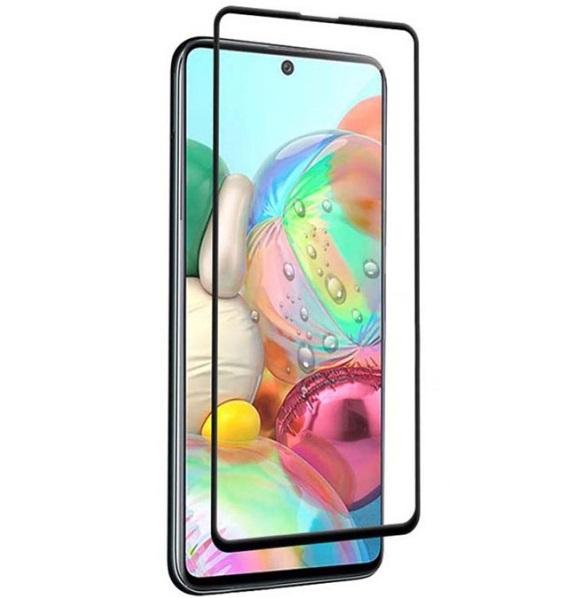 گلس گوشی سامسونگ A71 محافظ صفحه نمایش ا71 شیشه ای ای 71 تمام چسب گلس ای هفتاد و یک سامسونگ آ Full Glue Glass Samsung Galaxy 71