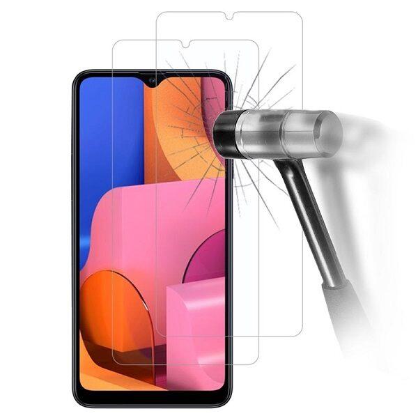 گلس A20s بی رنگ و شفاف یا محافظ صفحه نمایش شیشه ای Glass Screen Protector samsung A20s