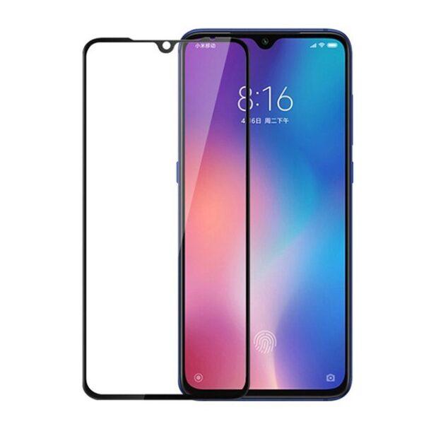 گلس Mi 9 se گلس گوشی شیاومی می نه اس ای محافظ صفحه شیشه ای تمام صفحه گلس اصلی شیائومی Full Cover Glass Xiaomi Mi9se/Mi 9 se/Mi9 se