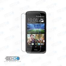 گلس htc 526 بی رنگ و شفاف اچ تی سی دی 526 یا ,526 محافظ صفحه نمایش شیشه ای Glass Screen Protector htc desire 526