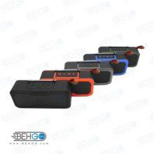 بلندگو یا اسپیکر بلوتوثی فلش خور AUXخور رم خور قابل حمل با کیفیت مدل Bluetooth Speaker MODEL JZ-005