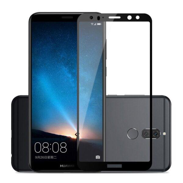 گلس mate 10 lite محافظ صفحه نمایش میت 10 لایت گلس تمام چسب مناسب گوشی هواوی Glass Full huawei Mate10lite / Nova2i / mate 10 lite