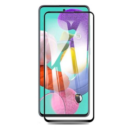 گلس گوشی سامسونگ M31S مدل فول محافظ صفحه نمایش شیشه ای M31S تمام چسب گلس Full Glue Glass Samsung Galaxy M31S