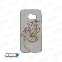 قاب گوشی سامسونگ اس سیکس اج s6 اج طرح دار مدل فنجان Back cover For Samsung galaxy S6 edge