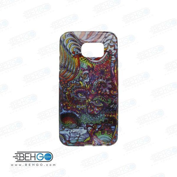 قاب گوشی سامسونگ اس سیکس s6 طرح دار مدل گرافیتی Back cover For Samsung galaxy S6