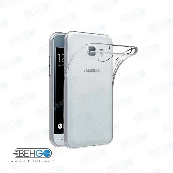 قاب گوشی سامسونگ جی 1 مینی بی رنگ شفاف clear cover For Samsung galaxy J1 mini