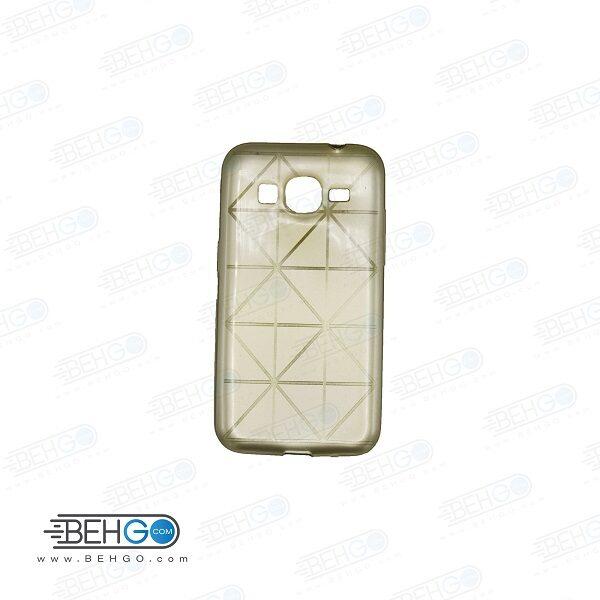 قاب گوشی سامسونگ کور پریم G360 طرح دار طلایی Back cover For Samsung galaxy Core prime