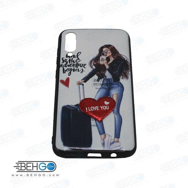 قاب A50 کاور گوشی موبایل طرح دار A30s قاب دخترانه آ پنجاه و ای سی اس دخترانه مناسب ولنتاین VALENTINE case for A50/A30s