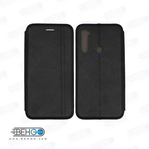 کیف گوشی شیائومی ردمی نوت note8 شیائومی کاور نوت8 مدل کلاسوری نوت 8 چرمی کیف گوشی شیاومی Xiaomi Redmi Note8 Leather Flip Cover Note 8