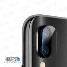 گلس لنز دوربین Note7 شیائومی محافظ لنز دوربین نوت7 بی رنگ و شفاف یا محافظ لنز دوربین شیشه ای Camera lens Glass Protector for Xiaomi Redmi Note 7