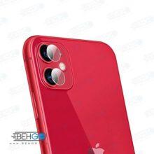 گلس لنز دوربین Iphone 11 اپل محافظ لنز دوربین آیفون یازده بی رنگ و شفاف یا محافظ لنز دوربین شیشه ای Camera lens Glass Protector for Apple Iphone 11