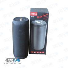 بلندگو یا اسپیکر اصلی بلوتوثی و فلش خور قابل حمل برند هیسکا با کیفیت Best Bluetooth speaker Hiska B48