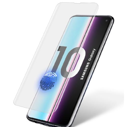 بهترین گلس گوشی سامسونگ S11 محافظ صفحه نمایش شیشه ای سامسونگ اس 11 تمام صفحه اس 20 با پوشش کامل مدل یو وی UV Nano Glass For Samsung Galaxy S11/S20