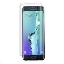 بهترین گلس گوشی سامسونگ S6 Edge محافظ صفحه نمایش شیشه ای سامسونگ اس 6 اج تمام صفحه با پوشش کامل مدل یو وی UV Nano Glass Samsung Galaxy S6 edge
