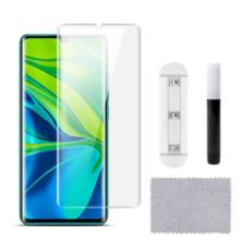 بهترین گلس گوشی شیائومی می نوت 10 پرو محافظ صفحه نمایش شیشه ای شیاومی نوت ده تمام صفحه با پوشش کامل مدل یو وی UV Nano Glass Xiaomi Mi Note 10 Pro /Mi Note 10