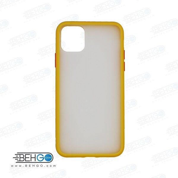 قاب آیفون 11 پرو مکس کاور پشت مات آیفون Fashion Case Apple Iphone 11 pro max