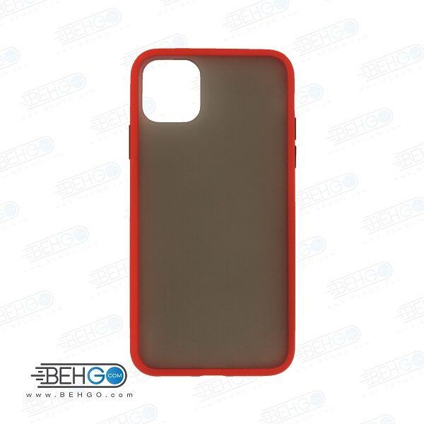 قاب آیفون یازده پرو محافظ دور رنگی کاور اپل 11 pro پشت مات آیفون Fashion Case Apple Iphone 11 pro