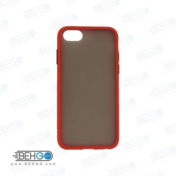 قاب آیفون 7 و 8 محافظ دور رنگی کاور اپل هفت و هشت پشت مات آیفون Fashion Case Apple Iphone 7/8