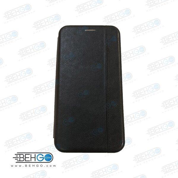 کیف A20s سامسونگ کاور ای 20 اس مدل کلاسوری ا20اس چرمی کیف گوشی سامسونگ Samsung Galaxy A 20 s/ A20 s Leather Flip Cover A20s