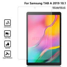 گلس تبلت T515 بی رنگ و شفاف یا محافظ صفحه نمایش تی 515 شیشه ای تبلت Glass Screen Protector Samsung Galaxy TAB A 10.1 2019 LTE SM-T515