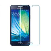 گلس A7 بی رنگ و شفاف سامسونگ A7 2015 محافظ صفحه نمایش شیشه ای Glass Screen Protector samsung A700 / A7 2015