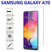 گلس A70 بی رنگ و شفاف سامسونگ A70 محافظ صفحه نمایش شیشه ای Glass Screen Protector samsung A 70 / A70