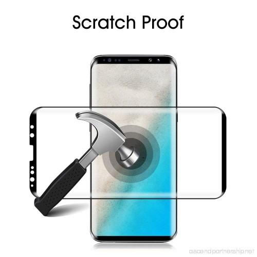 گلس S9 Plus محافظ صفحه نمایش سامسونگ S9 plus مدل فول چسب خم شیشه ای مناسب برای گوشی موبایل سامسونگ اس 9 پلاس گلس Full Glue Glass Screen Protector For Samsung Galaxy S9Plus / S9 Plus