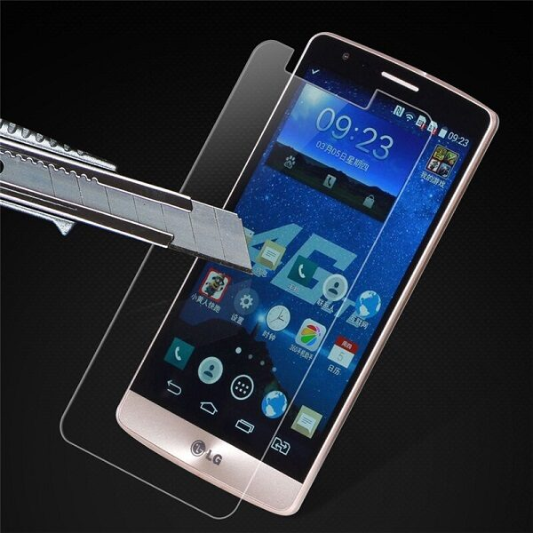 گلس LG k10 2016 بی رنگ و شفاف الجی کا10 2016 یا ,کا 10 2016 ال جی محافظ صفحه نمایش شیشه ای Glass Screen Protector LG k10 2016