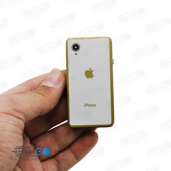فندک المنتی شارژی طرح اپل آیفون Electronic Cigarette Lighter