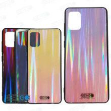 قاب A31 کاور لیزری رنگی محافظ قاب سامسونگ گلگسی ا31 مدل لیزری گوشی Tempered Glass Laser Case Samsung galaxy A31 / A 31