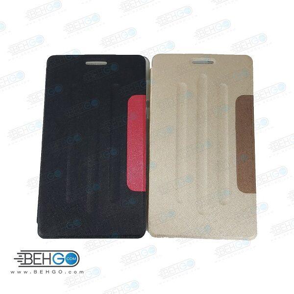 کیف تبلت هواوی T3 سیم کارت خور 3G سایز 7 اینچ مدل فولیو کاور T3 3G قاب تبلت هواوی تی سه 7 اینچ 3g مدیاپد T3 کیف تبلت هواوی Folio Cover 7 inch Huawei MediaPad T3
