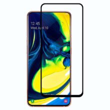 گلس A90 و A80 محافظ صفحه نمایش A80 گلس A 80 تمام چسب A80 مناسب گوشی سامسونگ ای بیست اس گلکسی Glass Full Samsung Galaxy A90 / A80