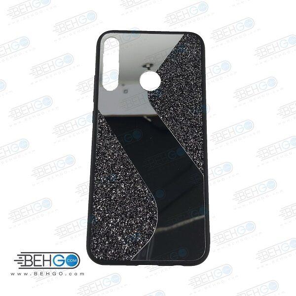 قاب گوشی Y7P قاب فانتزی هواوی وای 7 پی 2020 گارد مدل جدید اکلیلی آینه ای مناسب گوشی موبایل هواوی New Mirror glitter case For Huawei Y7P