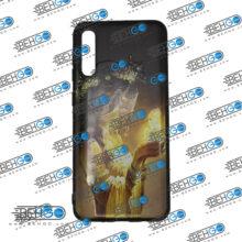 قاب A30s و A50s و A50 کاور سامسونگ آ سی اس قاب فانتزی گوشی سامسونگ A30 S با عکس دختر مو زرد طرح 15 محافظ مناسب ا30 اس گوشی موبایل سامسونگ New Golden hair Phone Case For Samsung A30s/A50s/A50