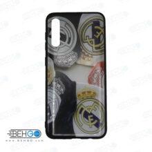 قاب A30s و A50s و A50 کاور سامسونگ آ سی اس قاب فانتزی گوشی سامسونگ A30 S با عکس رئال مادرید طرح 3 محافظ مناسب ا30 اس گوشی موبایل سامسونگ New Real Madrid Phone Case For Samsung A30s/A50s/A50