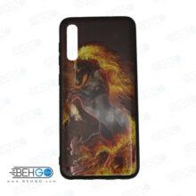 قاب A30s و A50s و A50 کاور سامسونگ آ سی اس قاب فانتزی گوشی سامسونگ A30 S با عکس اسب آتشی طرح 2 محافظ محافظ مناسب ا30 اس گوشی موبایل سامسونگ New Horse Phone Case For Samsung A30s/A50s/A50
