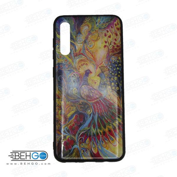 قاب A70s و A70 کاور سامسونگ آ هفتاد اس قاب فانتزی گوشی سامسونگ A70 S با با عکس طاووس طرح 11 محافظ مناسب ا70 اس گوشی موبایل سامسونگ New Peacock Phone Case For Samsung A70s/A70