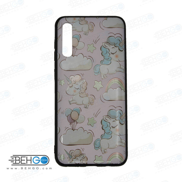 قاب A70s و A70 کاور سامسونگ آ هفتاد اس قاب فانتزی گوشی سامسونگ A70 S با با عکس ابر و بادکنک طرح 10 محافظ مناسب ا70 اس گوشی موبایل سامسونگ New Cloud And Balloon Phone Case For Samsung A70s/A70