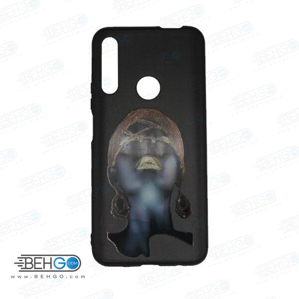 قاب Y9 prime 2019 کاور هواوی honor 9x قاب فانتزی گوشی هواوی وای 9 پریم 2019 با عکس دختر سیاه پوست طرح 5 محافظ مناسب وای نه پریم 2019 گوشی موبایل هواوی New Black Girl Phone Case For Huawei Y9 prime 2019/honor 9x