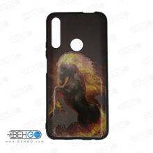 قاب Y9 prime 2019 کاور هواوی honor 9x قاب فانتزی گوشی هواوی وای 9 پریم 2019 با عکس اسب آتشی طرح 2 محافظ مناسب وای نه پریم 2019 گوشی موبایل هواوی New Horse Phone Case For Huawei Y9 prime 2019/honor 9x