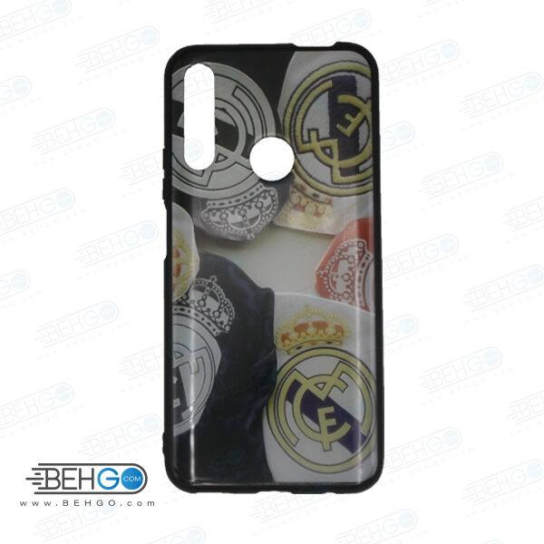 قاب Y9 prime 2019 کاور هواوی honor 9x قاب فانتزی گوشی هواوی وای 9 پریم 2019 با عکس رئال مادرید طرح 3 محافظ مناسب وای نه پریم 2019 گوشی موبایل هواوی New Real Madrid Phone Case For Huawei Y9 prime 2019/honor 9x
