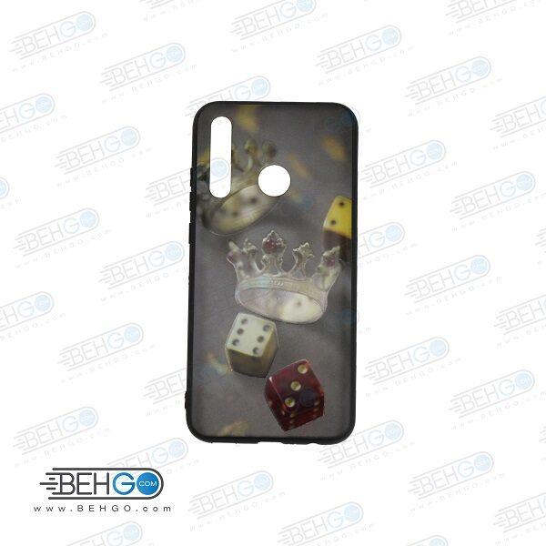 قاب honor 20 lite کاور Honor10 lite هواوی آنر بیست لایت قاب فانتزی گوشی هواوی آنر 20 لایت با عکس تاج و تاس دار طرح 13 محافظ مناسب گوشی موبایل هواوی New Phone Case For Huawei honor 20 lite