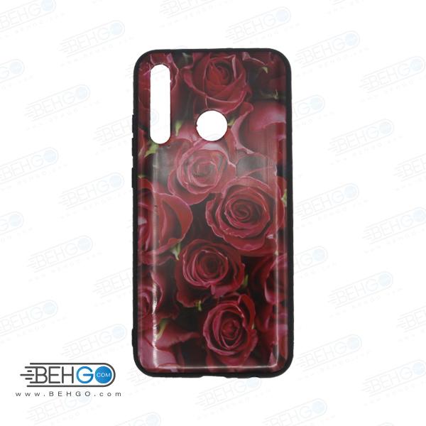 قاب honor 20 lite کاور هواوی آنر بیست لایت قاب فانتزی گوشی هواوی آنر 20 لایت با عکس گل سرخ طرح 12 محافظ مناسب گوشی موبایل هواوی New Red Flowers Phone Case For Huawei honor 20 lite