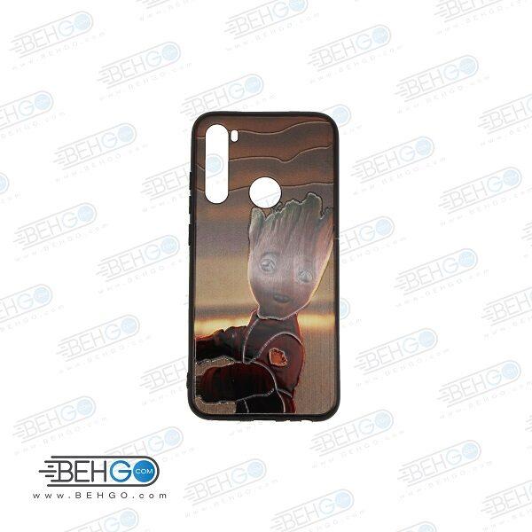 قاب note 8 کاور شیائومی note 8 قاب فانتزی گوشی شیائومی note8 با عکس گروت طرح 20 محافظ مناسب نوت 8 گوشی موبایل شیائومی New Groot Phone Case For xiaomi redmi note 8